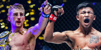 โจนาธาน แฮ็กเกอร์ตี ท้า รถถัง จิตรเมืองนนท์ ในการชกแบบ MMA